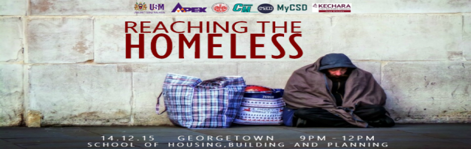 Reach Out The Homeless 2.0 Programme 14 December 2015